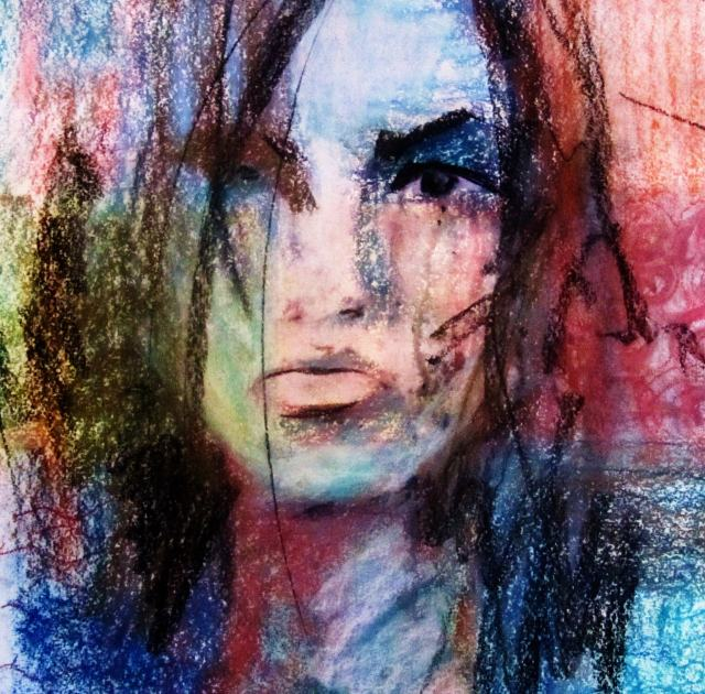 Soft pastel art for nothing for Elsa au miroir aragon