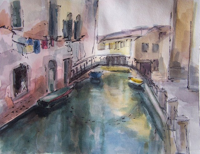 Watercolor-Venice