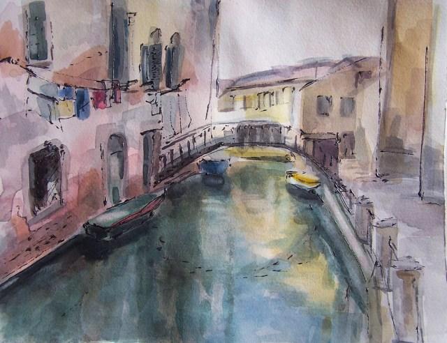 Watercolor-Venice