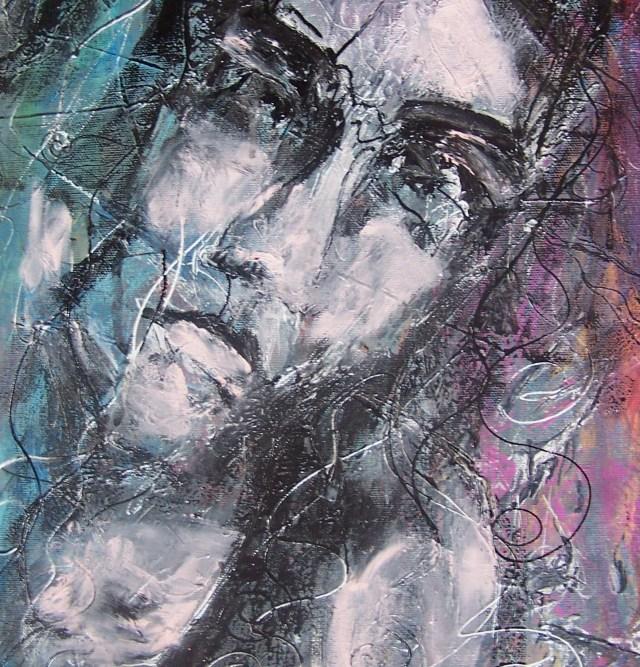 Acrylic -oil mix on canvas