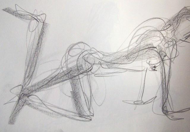 life drawing-quick pose 6