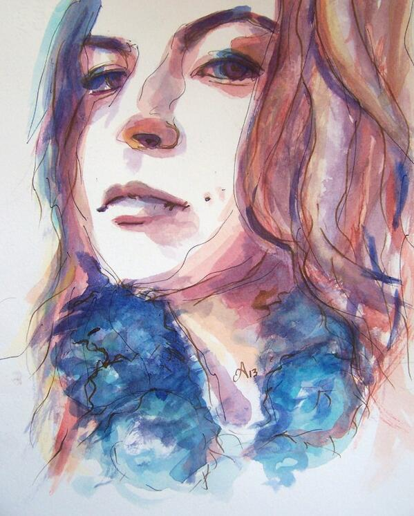 Watercolor-belong to the colours