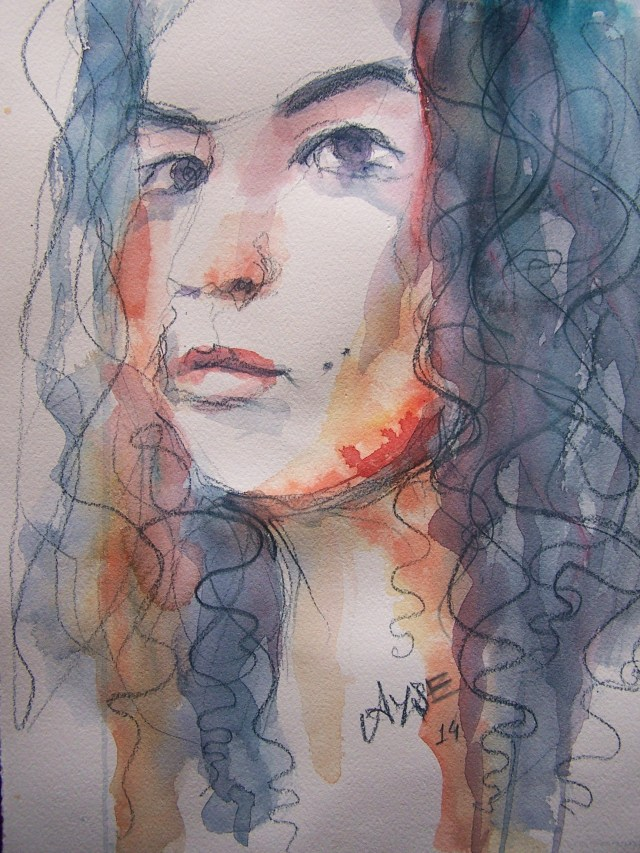 Watercolor-portrait- Way and Virtue