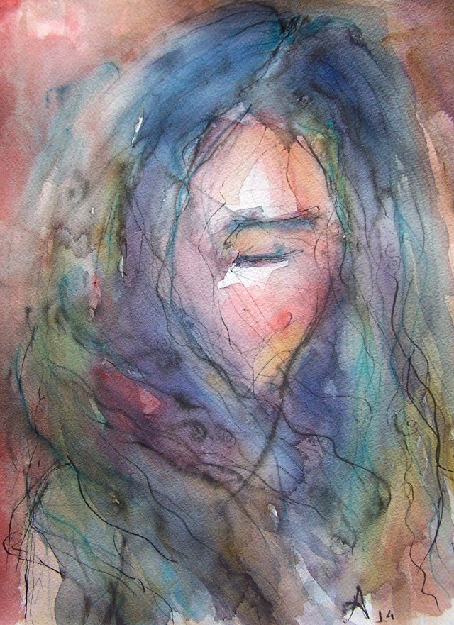 Watercolor-portrait-color