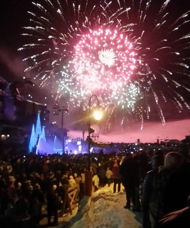Val Thorens 2014 new year