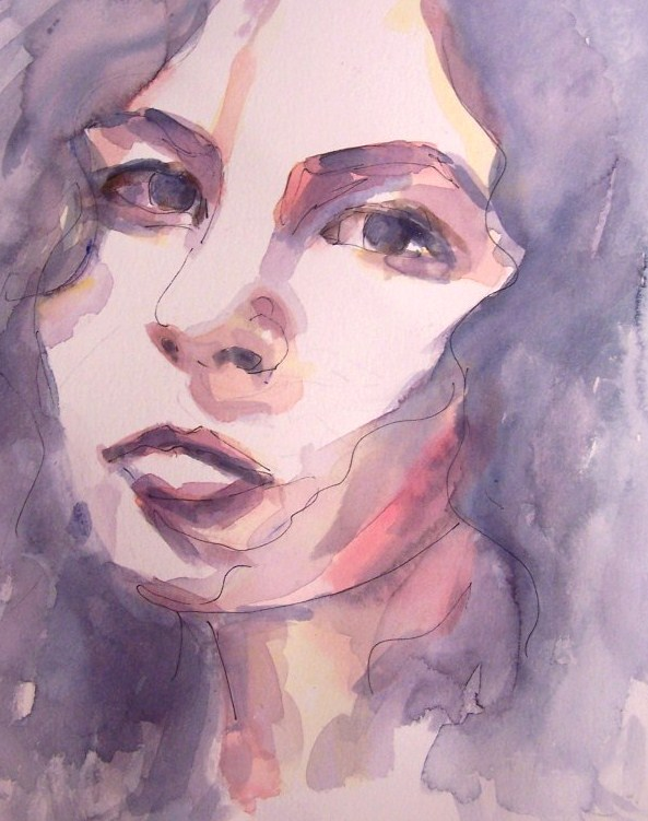 Watercolor-true love-portrait