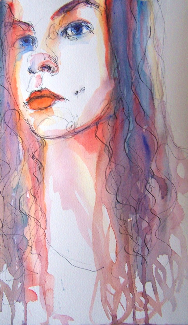 watercolor-self-portrait-love- everything
