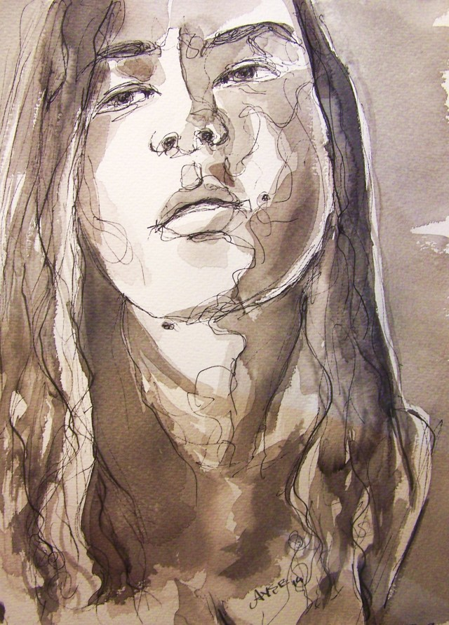 watercolor-selfportrait-freedom
