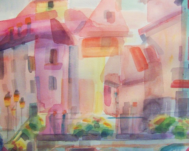 Watercolor-Annecy-France-Dream
