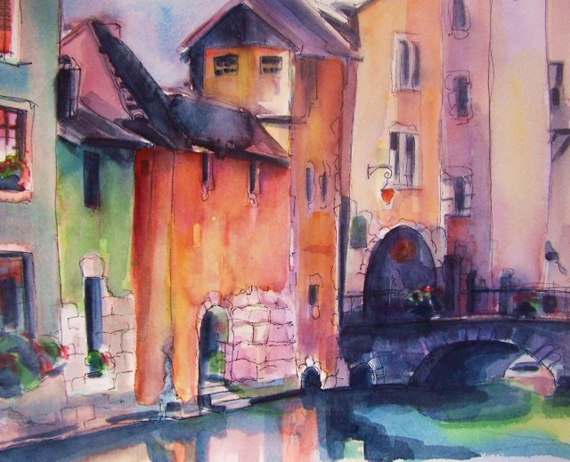 Watercolor-Annecy-France-Feel