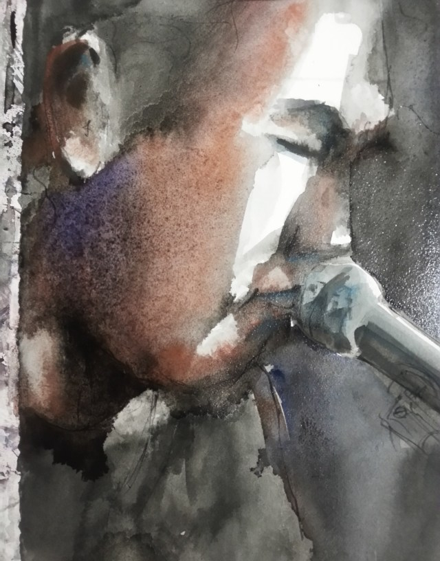 watercolor - portrait -radik tyulyush