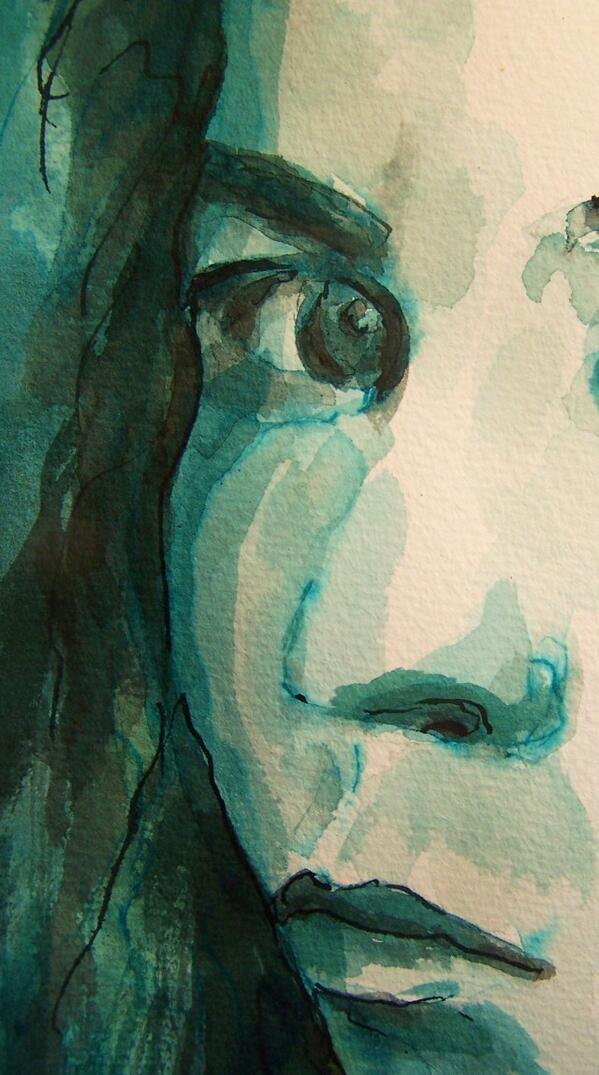 watercolor - selfportrait-Call Me by My True Names