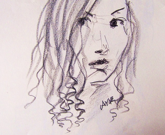 drawing-selfportrait